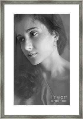 Portrait #7385 Framed Print by Andrey Godyaykin