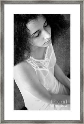 Portrait #7493 Framed Print