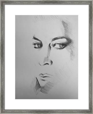 Portrait Framed Print by Candice DeKay