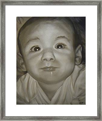 Portrait Commission Framed Print