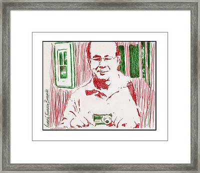 Portrait  Lauri  Framed Print