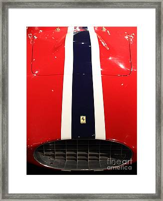 Portrait Of A Blur Framed Print by Wingsdomain Art and Photography