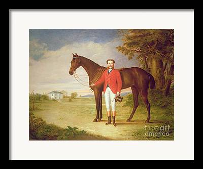 English Horse Portraits Framed Prints