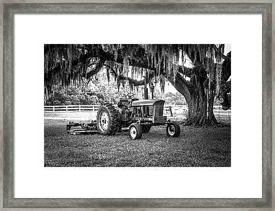 Portrait Of A John Deere Framed Print by Scott Hansen