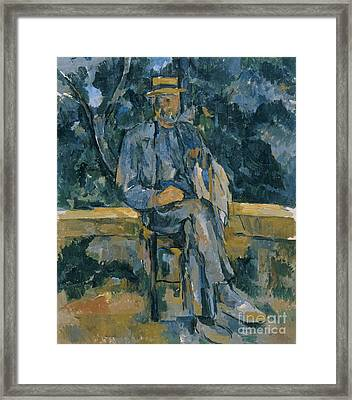Portrait Of A Peasant Framed Print