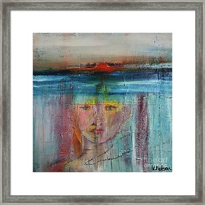 Portrait Of A Refugee Framed Print by Kim Nelson