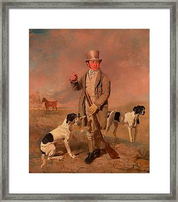 Portrait Of A Sportsman - Possibly Richard Prince Framed Print