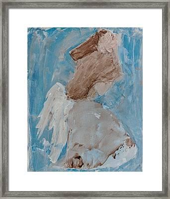 Portrait Of An Angel Framed Print