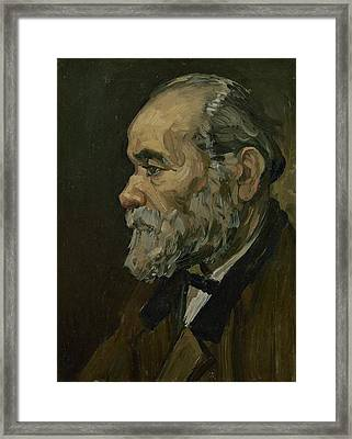 Portrait Of An Old Man Framed Print by Vincent van Gogh