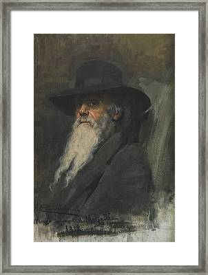 Portrait Of Andrea Malfatti Framed Print