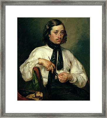 Portrait Of Armand Ono Framed Print