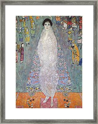 Portrait Of Baroness Elisabeth Bachofen Echt Framed Print by Gustav Klimt