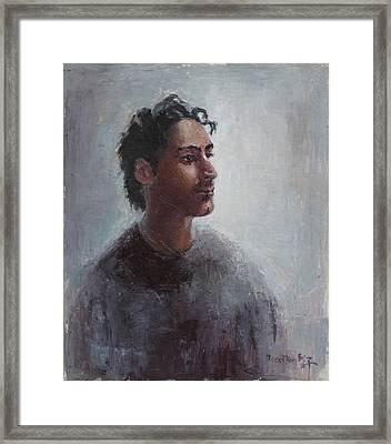Portrait Of Bomdod Framed Print