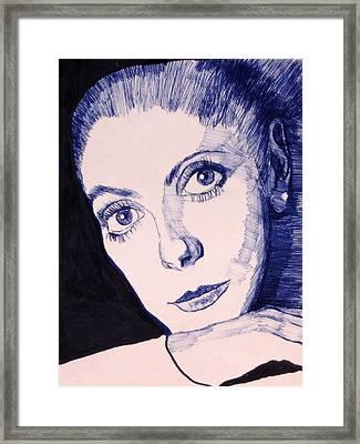 Portrait Of Catherine Framed Print