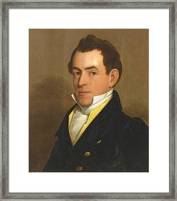 Portrait Of Dr. Lawson Myrick Framed Print