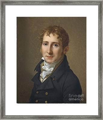 Portrait Of Edward Fox Fitzgerald  Framed Print by MotionAge Designs