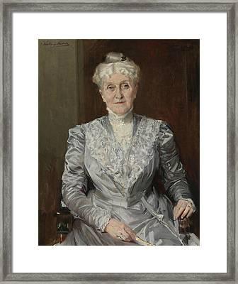 Portrait Of Emily Perkins Framed Print