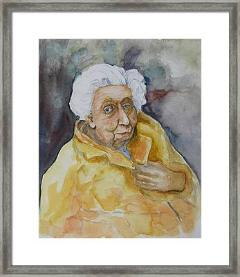 Portrait Of Eudora Welty   Framed Print by Dan Earle