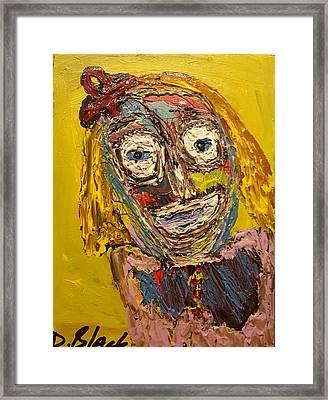 Portrait Of Finja Framed Print