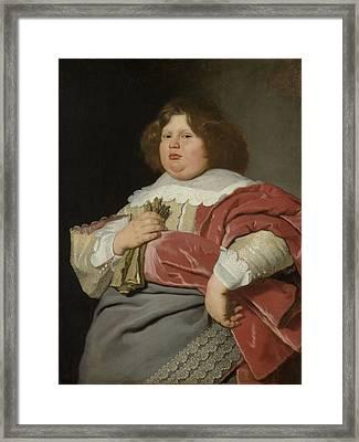 Portrait Of Gerard Andriesz Bicker, 1642 Framed Print