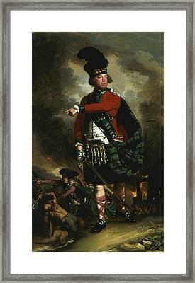 Portrait Of Hugh Montgomerie Framed Print by John Singleton Copley