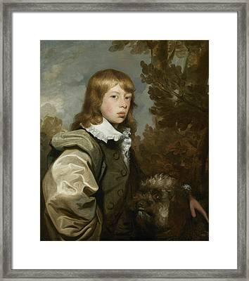 Portrait Of James Ward Framed Print by Gilbert Stuart