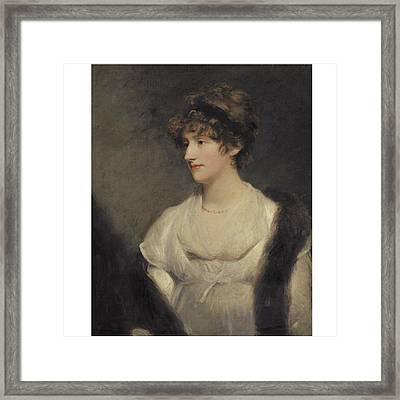 Portrait Of Jane Frere Framed Print
