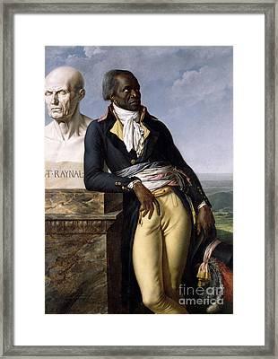 Portrait Of Jean-baptiste Belley Framed Print
