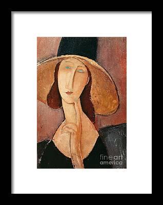 Jeanne Framed Prints