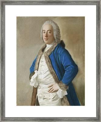 Portrait Of Joseph Bouer - Merchant Of Genoa Framed Print