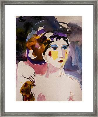 Portrait Of Joy Framed Print