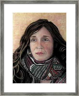 Portrait Of Katy Desmond, C. 2017 Framed Print