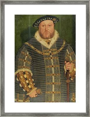 Portrait Of King Henry Framed Print