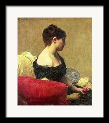 Strapless Paintings Framed Prints
