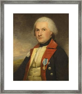 Portrait Of Major James Fairlie Framed Print by Ralph Earl