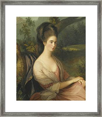 Portrait Of Miss Charlotte Dee Framed Print
