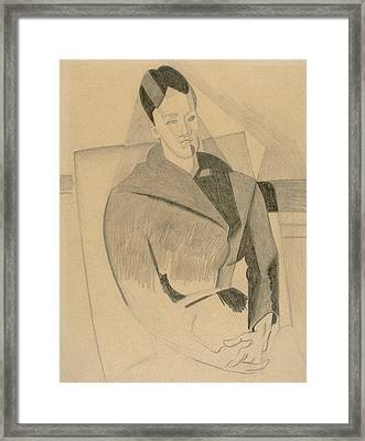Portrait Of Mme Cezanne After Cezanne Framed Print
