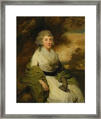 Portrait Of Mrs John Parish Framed Print by MotionAge Designs