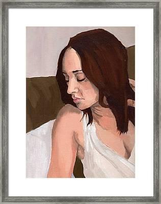 Portrait Of Nikitah Framed Print