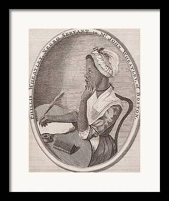 African American History Drawings Framed Prints