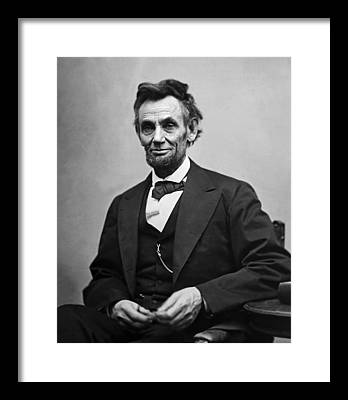 Abraham Lincoln Framed Prints