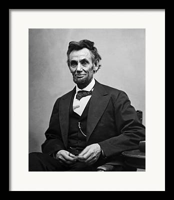 Presidential Photographs Framed Prints