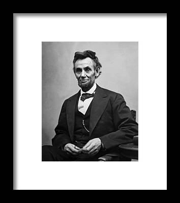 Politicians Framed Prints