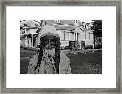 Portrait Of Prince-st Lucia Framed Print