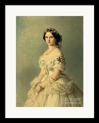 19th Century Portrait Framed Prints