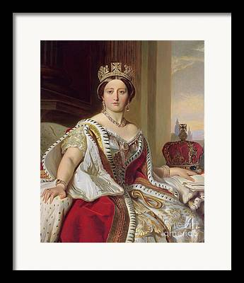 Queen Victoria Framed Prints