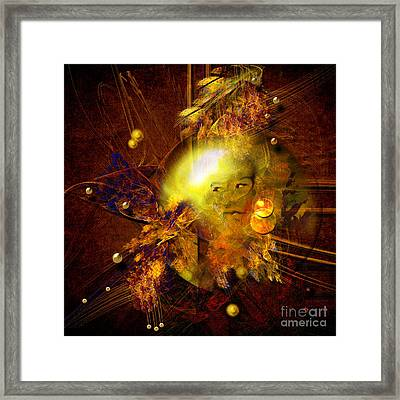 Portrait Of Reincarnated Prince Framed Print