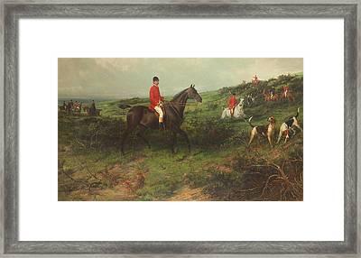 Portrait Of Richard James Streatfeild Framed Print