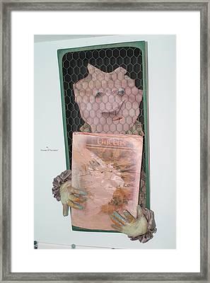 Portrait Of The Oddist Framed Print