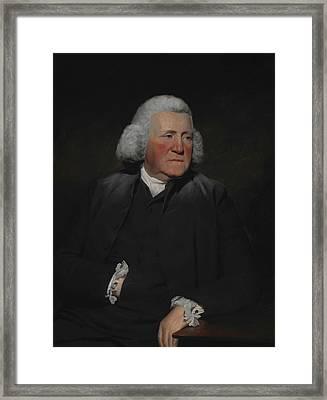 Portrait Of Thomas Wood Framed Print by Henry Raeburn